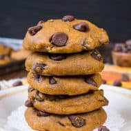 Best Pumpkin Chocolate Chip Cookies
