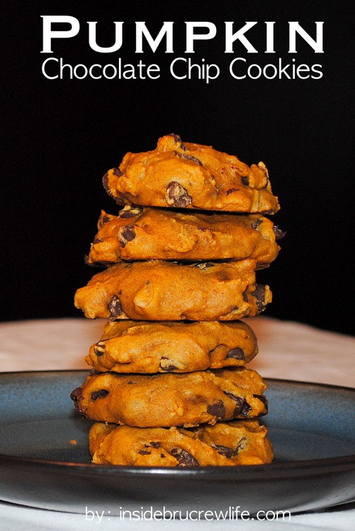 Pumpkin Chocolate Chip Cookies title