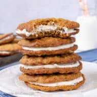 Homemade Oatmeal Cream Pies – Little Debbie Copycat