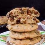 Banana Chocolate Chip Zucchini Cookies