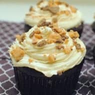 Chocolate Butterscotch Cupcakes
