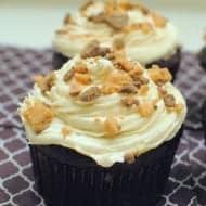 Chocolate Butterscotch Cupcakes