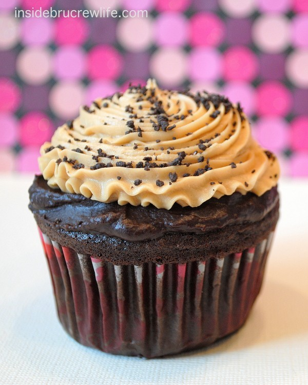 Caramel Mocha Cupcakes