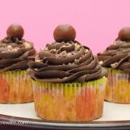 Banana Malt Cupcakes