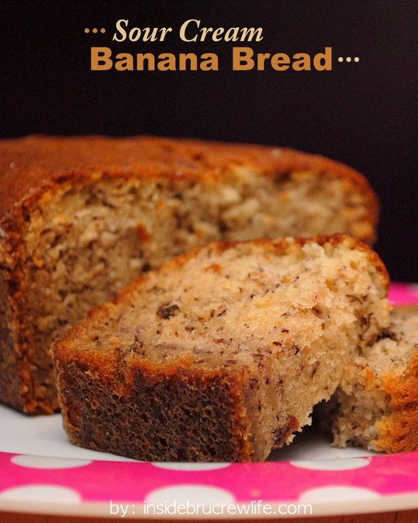 Sour Cream Banana Bread title