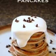 Fluffernutter Pancakes