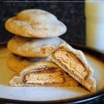 Peanut Butter Snickers Cookies
