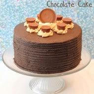 Peanut Butter Explosion Chocolate Cake