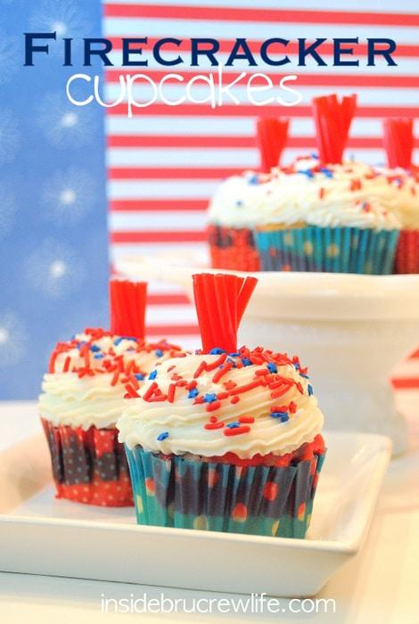 Firecracker Cupcakes title