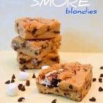 Peanut Butter Smore Blondies
