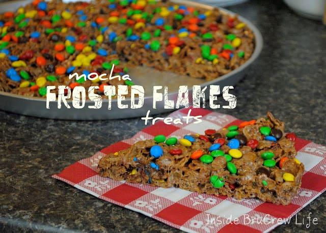Mocha Frosted Flakes Treats