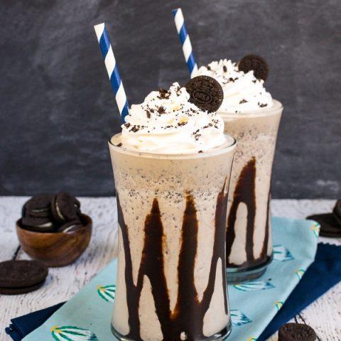 Mocha Oreo Milkshakes