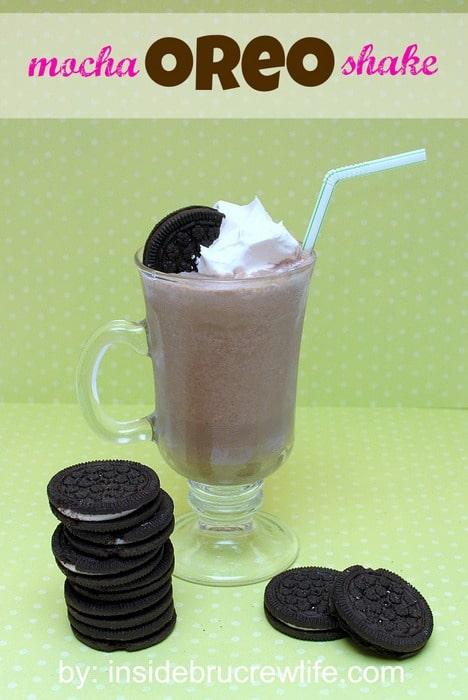 Mocha Oreo Milkshake
