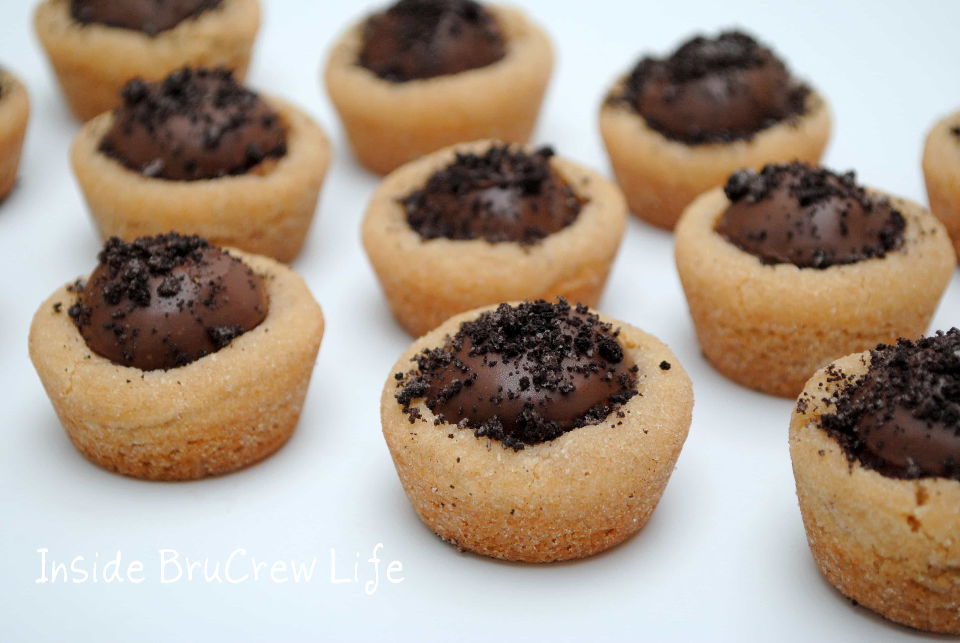 Peanut Butter Oreo Truffle Cookie Cups