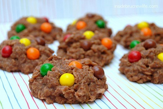 Sixlets No Bake Cookies