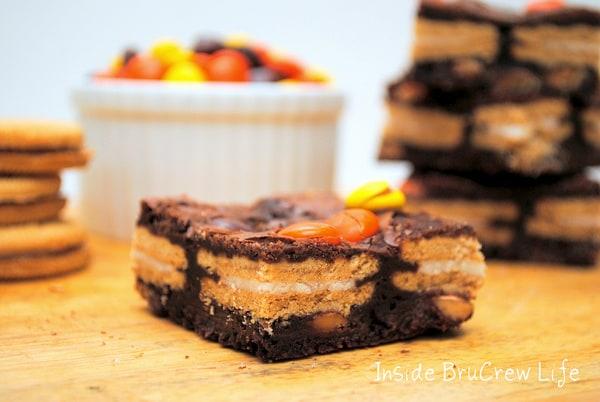 Oreo Reese's Brownies