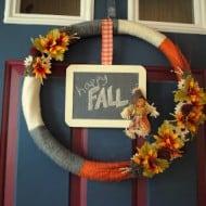 Cyber Crafting – Fall Wreaths