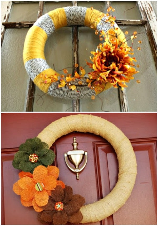 Inspiration for an Easy DIY Fall Wreath