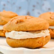 Butterscotch Pumpkin Whoopie Pies