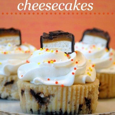 Milky Way Cheesecakes