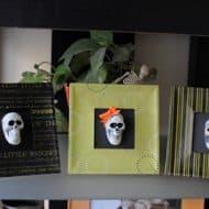 Halloween Mod Podge Frames