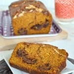 Nutella Marshmallow Pumpkin Bread