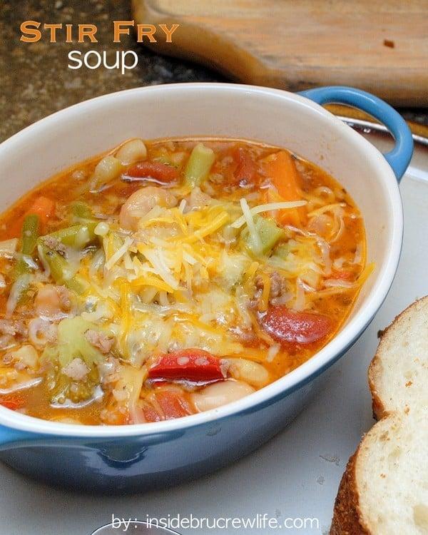 Stir Fry Soup | Inside BruCrew Life