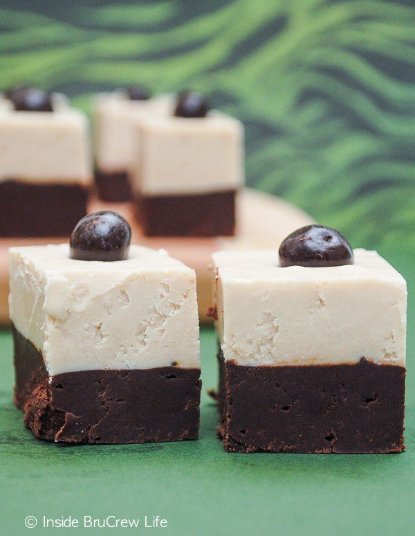 Coffee and chocolate makes this Cappuccino Fudge a delicious no bake treat.