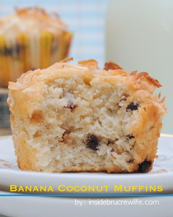 Banana Cococonut Muffins