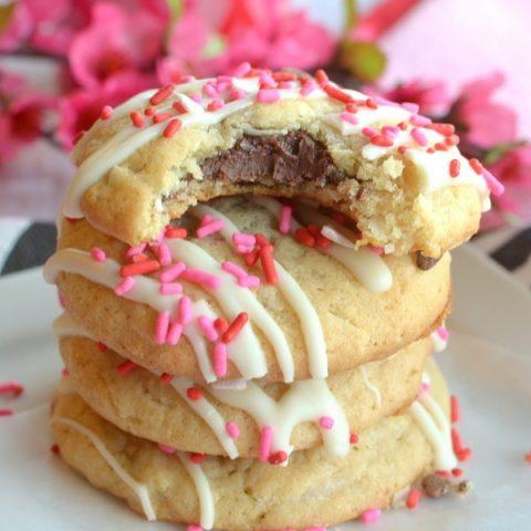 Coconut Nutella Cookies