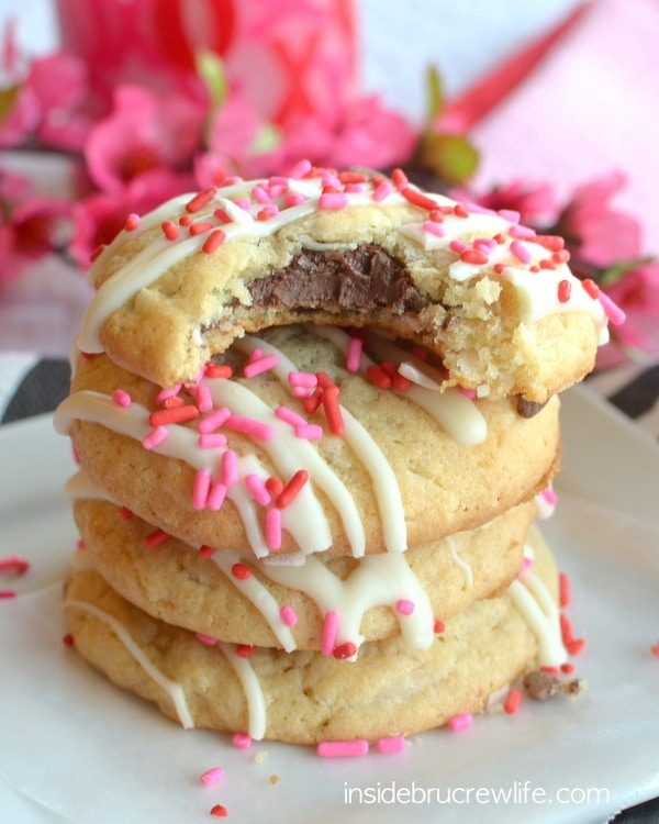 Coconut Nutella Cookies