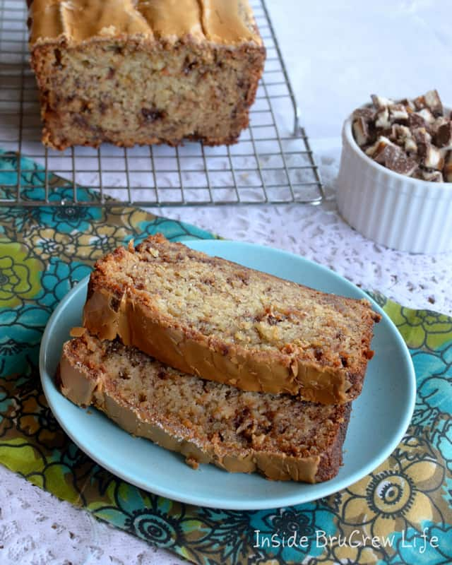 Java Twix Banana Bread