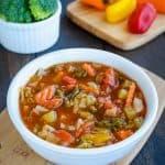Lean Mean Veggie Soup