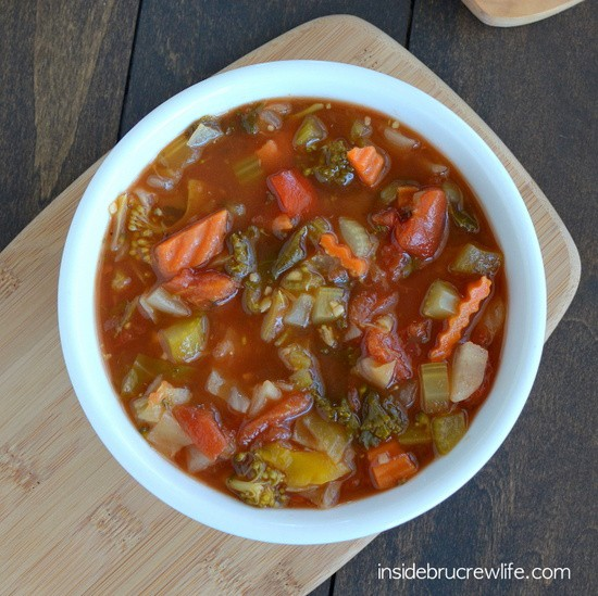 Lean Mean Veggie Soup 2