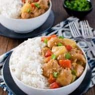 Sweet and Sour Crockpot Chicken