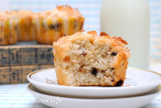 Toffee Banana Coconut Muffins 3