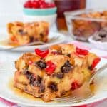 Cherry Chocolate French Toast Bake