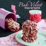 Pink Velvet Macaroons