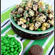 Fudge Mint Popcorn