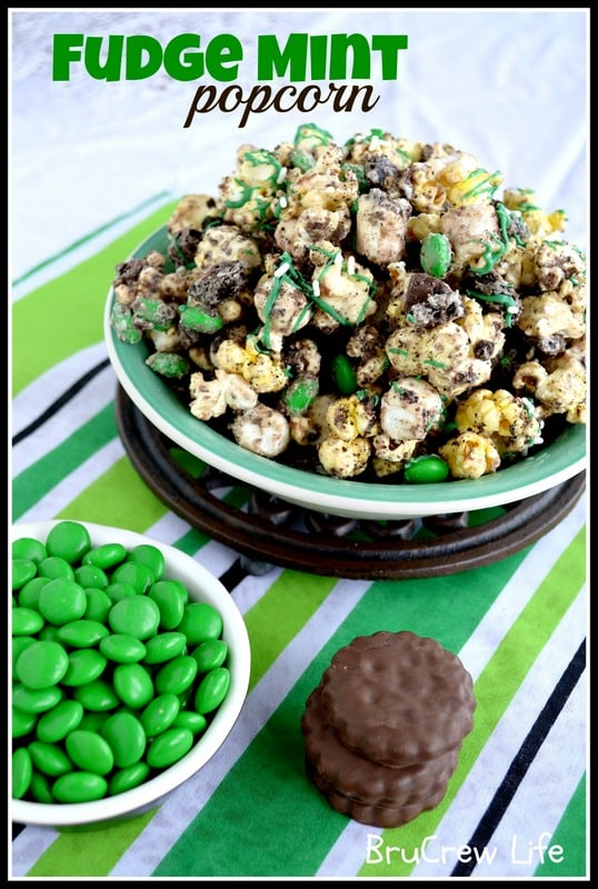 Fudge Mint Popcorn 4