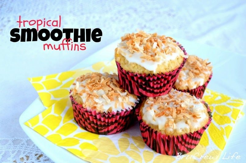 Tropical Smoothie Muffins 4