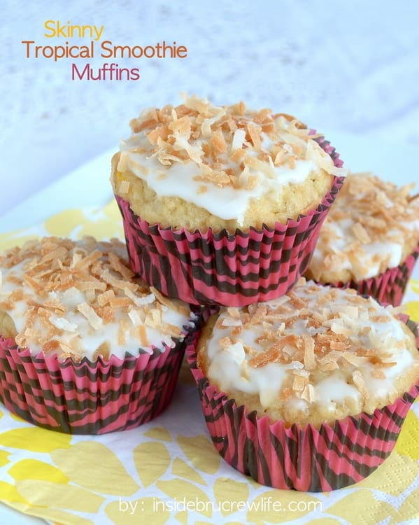 Tropical Smoothie Muffins title
