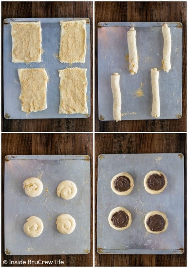 How to make a Cheesecake S'mores Danish