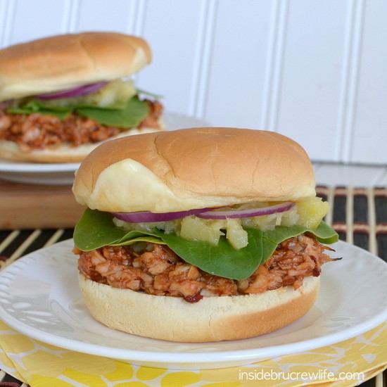 Chipotle BBQ Chicken Sandwiches from www.insidebrucrewlife.com - spicy barbecue chicken sandwiches for an easy and delicious dinner