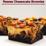 Ultimate Reese's Cheesecake Brownies