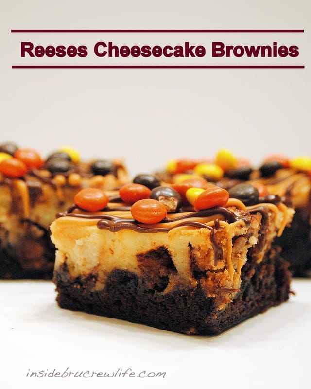 Reese's Cheesecake Brownies