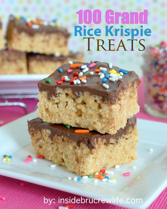 100 Grand Rice Krispie Treats | Inside BruCrew Life