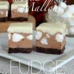 Mocha Mallow Fudge