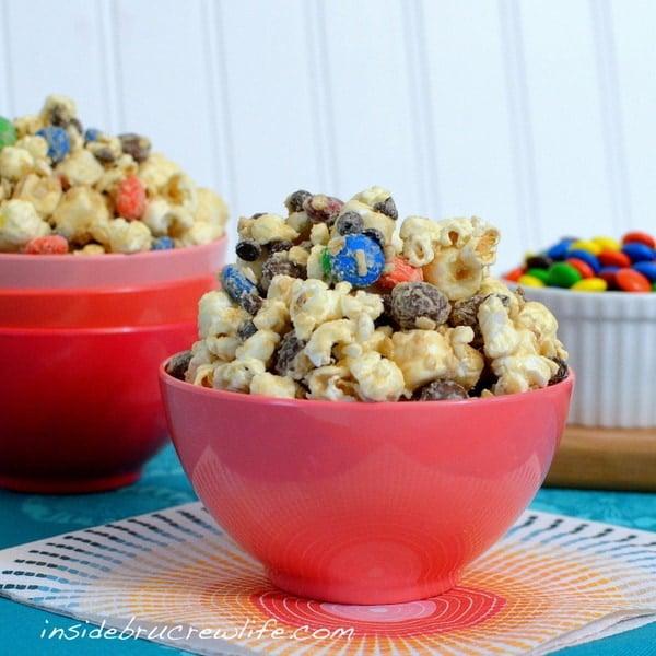 Monster Cookie Dough Popcorn