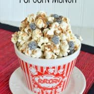 Coffee Toffee Popcorn Munch